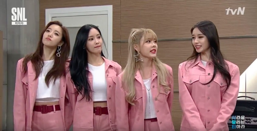 "T-ara Members Bring Up Their Painful Past On ""SNL Korea 9"""