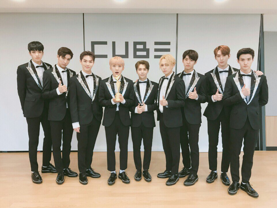 PENTAGON Wins New Star Award At The 2017 Asia Model Awards