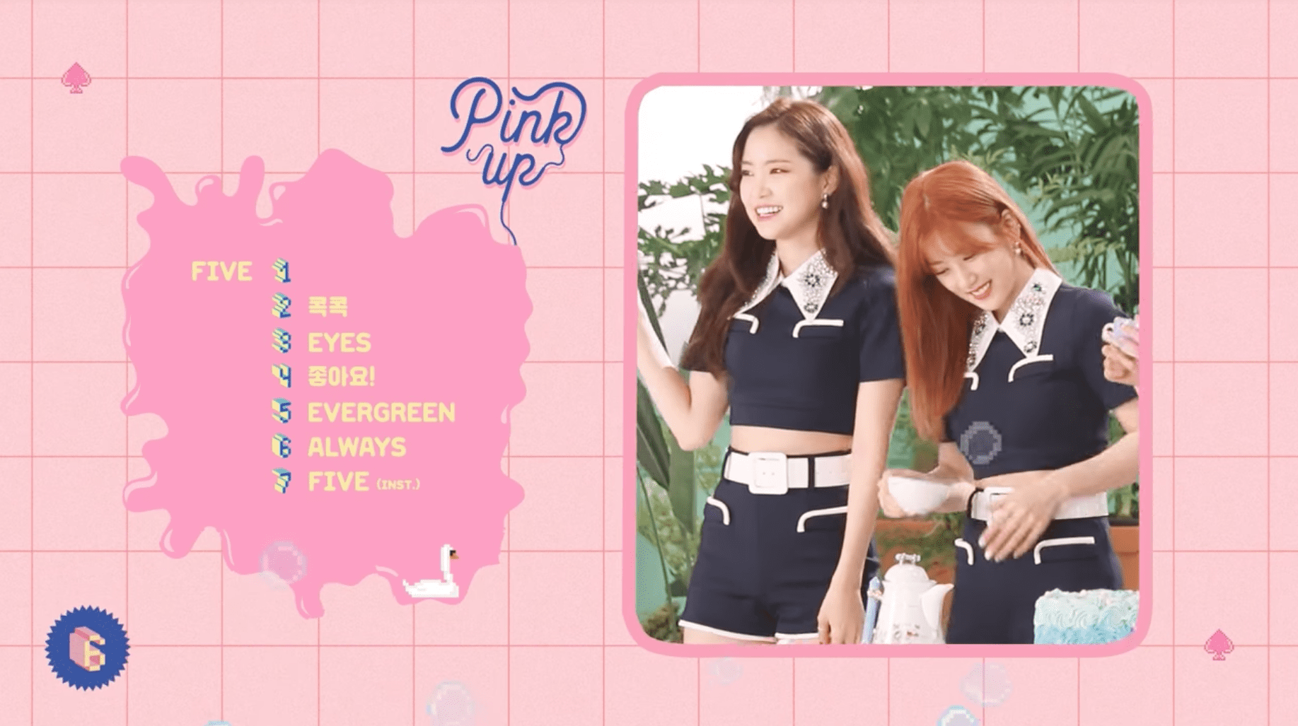 "Watch: Apink Reveal Sweet Highlight Medley For Upcoming Album ""Pink UP"""