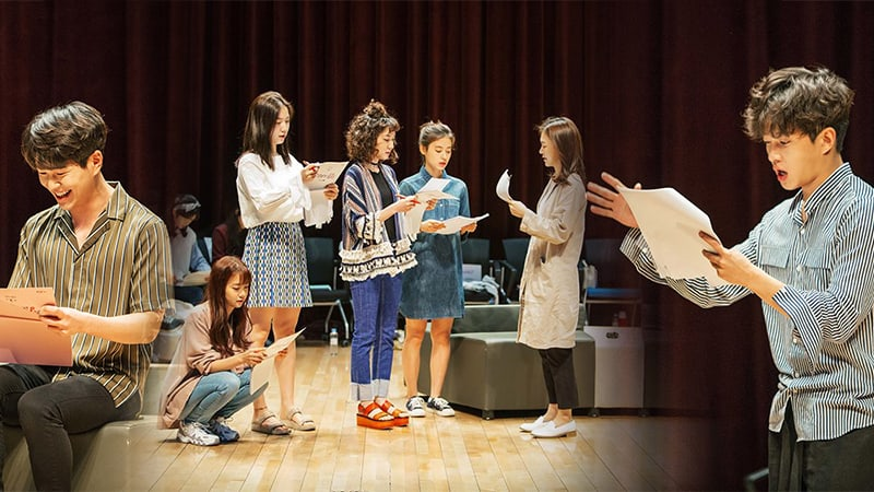"JTBC Releases New Stills From Group Script Reading For ""Age Of Youth 2"""