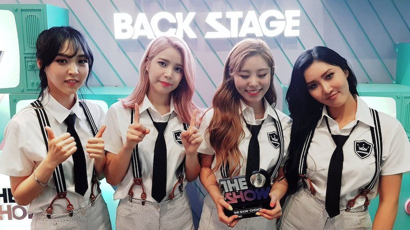 "Watch: MAMAMOO Takes 1st Win For ""Yes I Am"" On ""The Show,"" Performances By Apink, T-ara, ASTRO, And More"