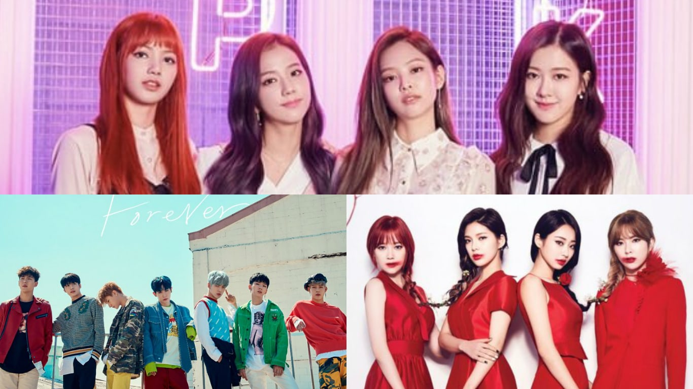 BLACKPINK, MONSTA X, And 9MUSES' New Releases Make Great Debuts On Billboard's World Charts