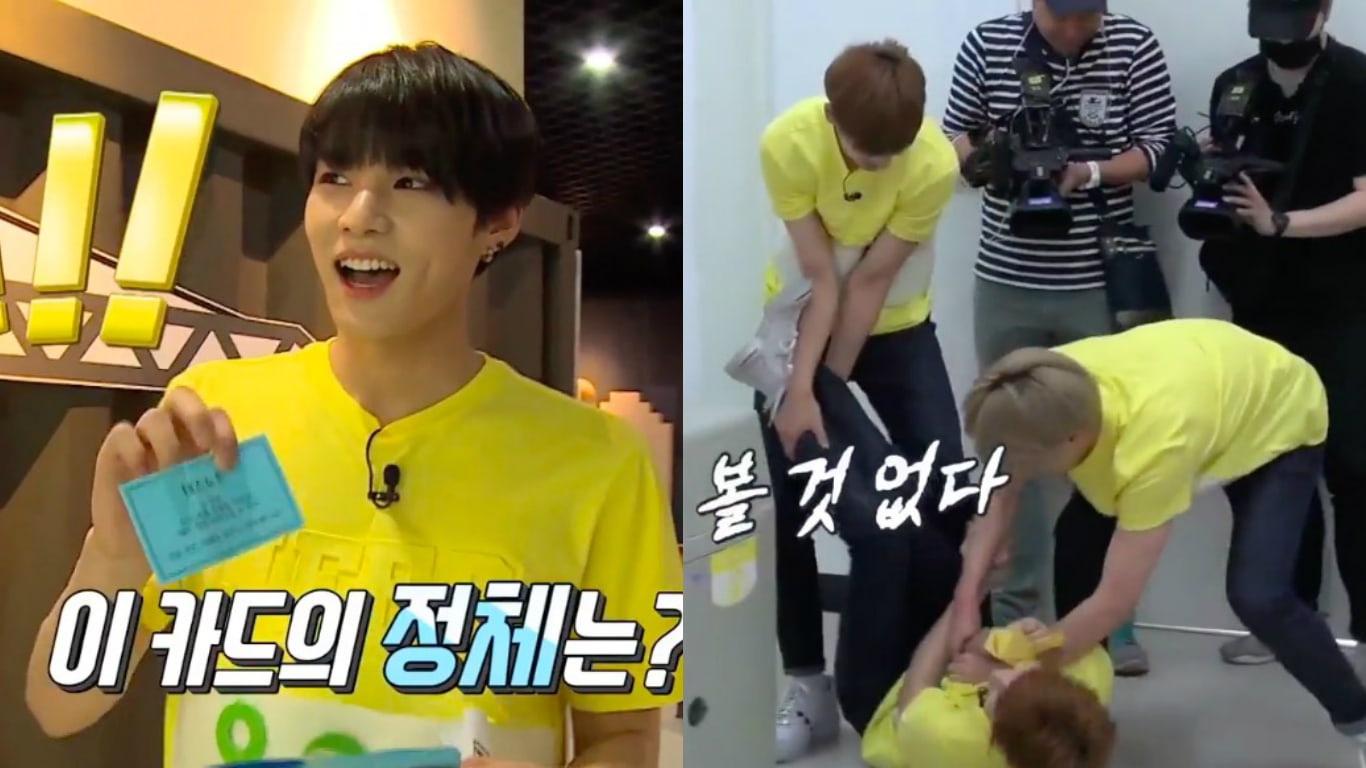 "Watch: VICTON's ""Running Man""-Inspired Game Turns Into Hilarious Battle Of Wits, Strength, And Revenge"
