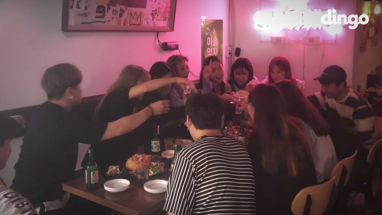 "Watch: Apink Sings ""FIVE"" While Drinking For Dingo Music's ""TIPSY Live"""
