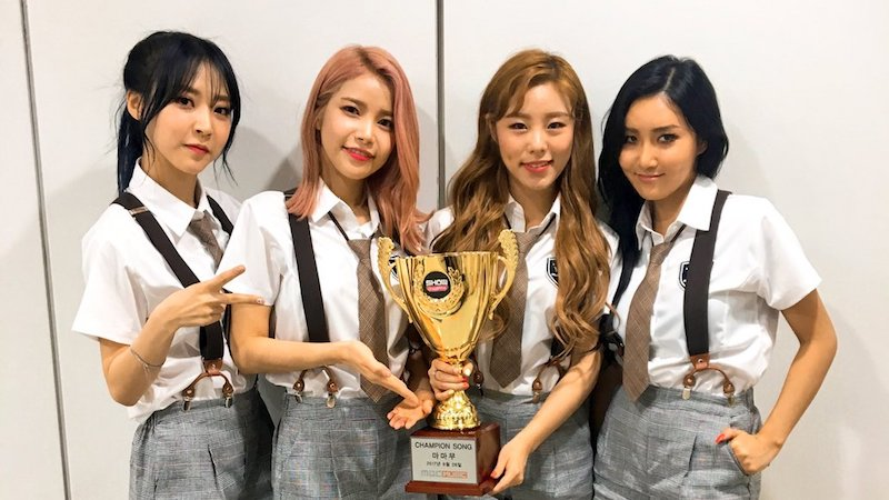 "Watch: MAMAMOO Takes 2nd Win For ""Yes I Am"" On ""Show Champion,"" Performances By NCT 127, MONSTA X, Apink, And More"