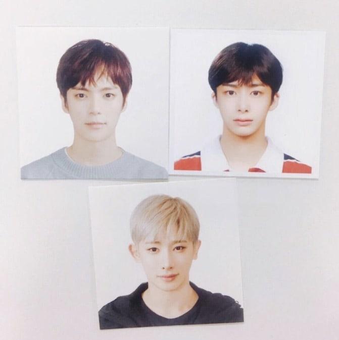 MONSTA X Reveals Their Passport Photos