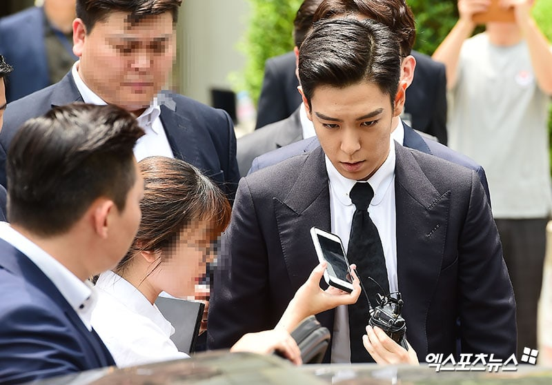 BIGBANG's T.O.P Acknowledges All Charges At First Trial For Marijuana Case