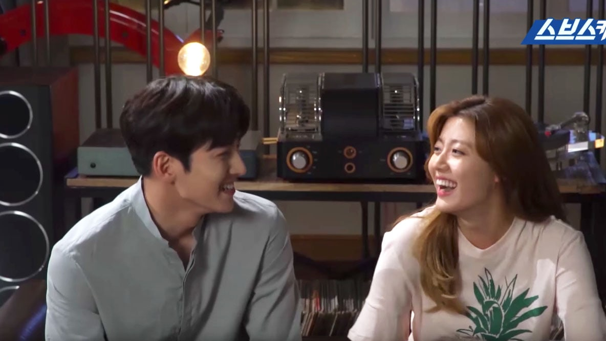 "Watch: Ji Chang Wook And Nam Ji Hyun Practice Aegyo On Each Other For ""Suspicious Partner"""