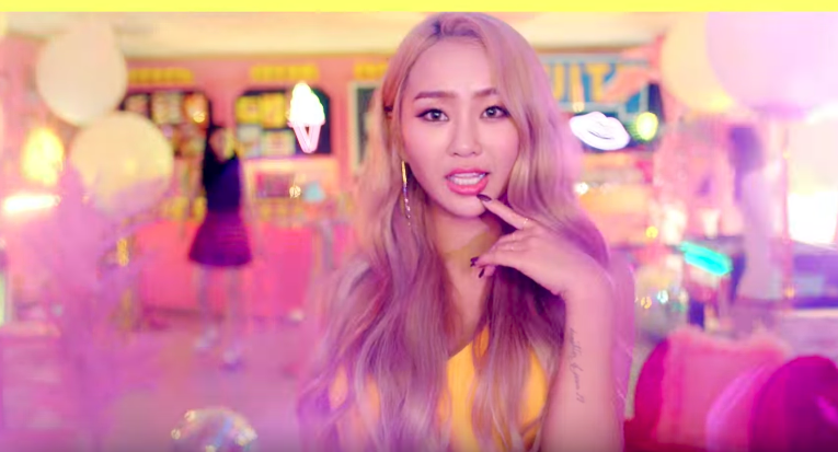 "Watch: Hyorin Teams Up With Kisum To Release Playful MV For ""Fruity"""