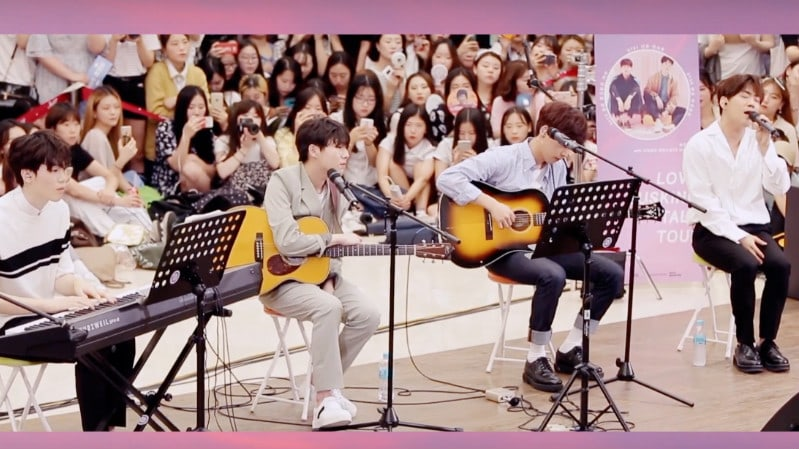 Watch: Jeong Sewoon, Yoo Seung Woo, And MIND U Melt Hearts With Soothing Vocals At Busking Event