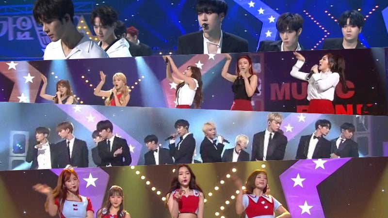 "Watch: GOT7, SEVENTEEN, Red Velvet, And More Perform On ""Music Bank"" Half Year Special"