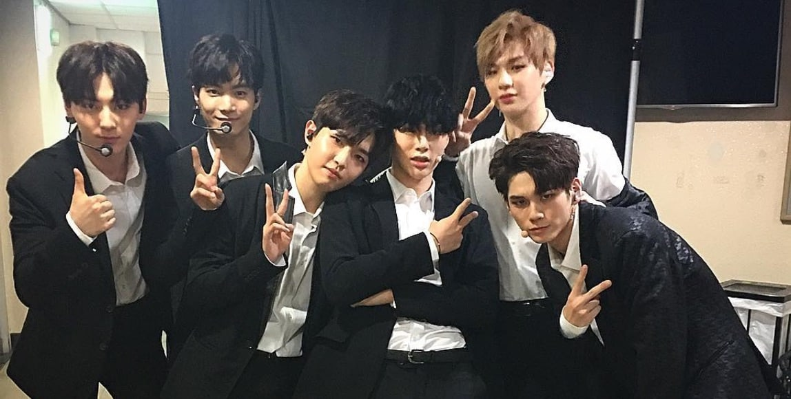 "Kwon Hyun Bin Shares ""Sorry Sorry"" Group 2 Reunion Photo From ""Produce 101 Season 2"" Concert"