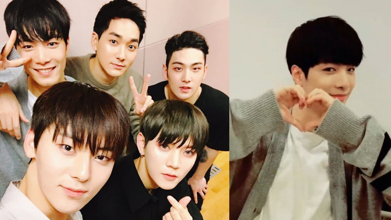 "NU'EST's Kim Jong Hyun Talks About Life After ""Produce 101 Season 2,"" Pledis Shares New Group Photo"