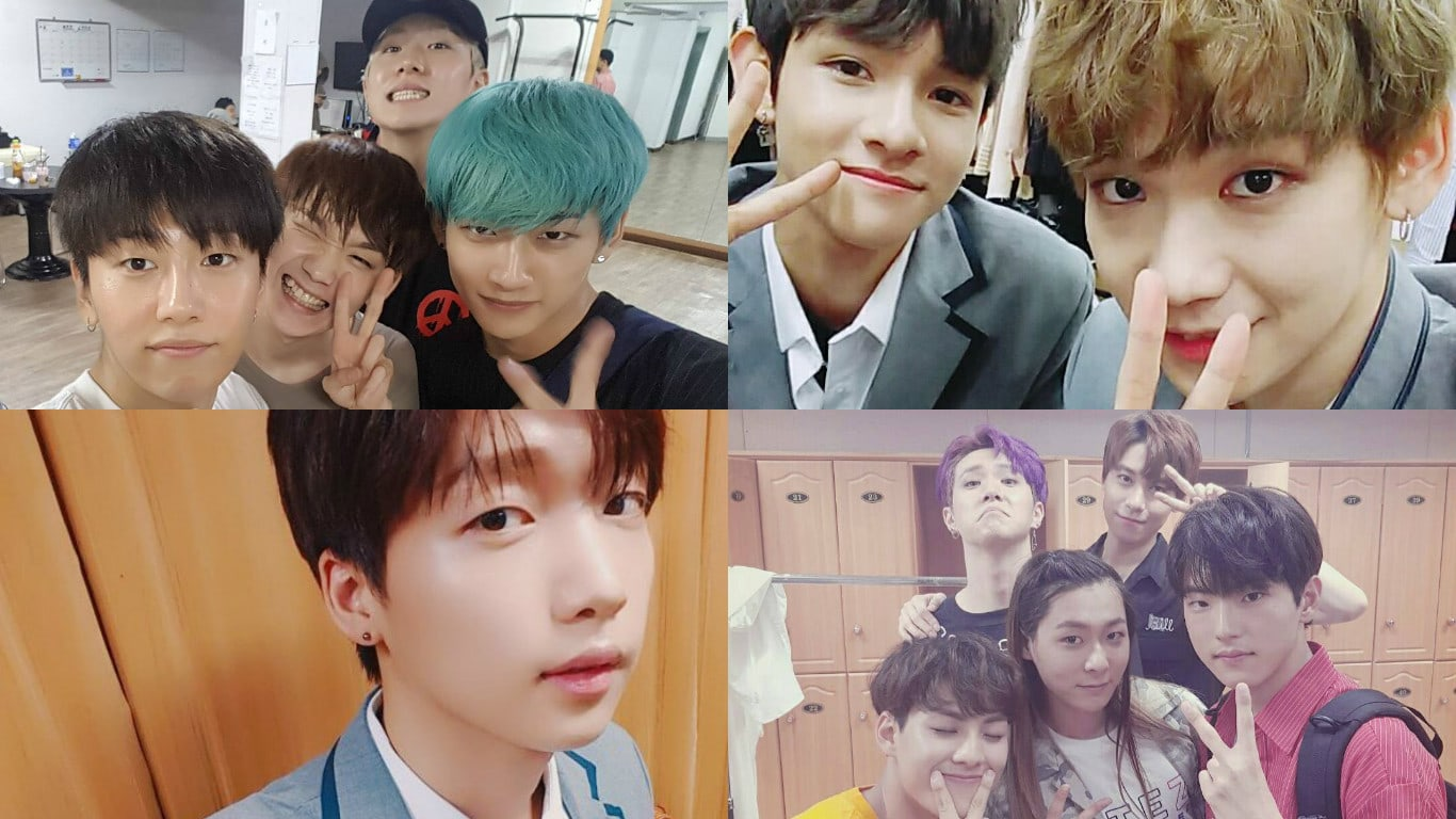 """""""Produce 101 Season 2"""" Trainees Share Behind-The-Scenes Photos From Finale Concerts"""