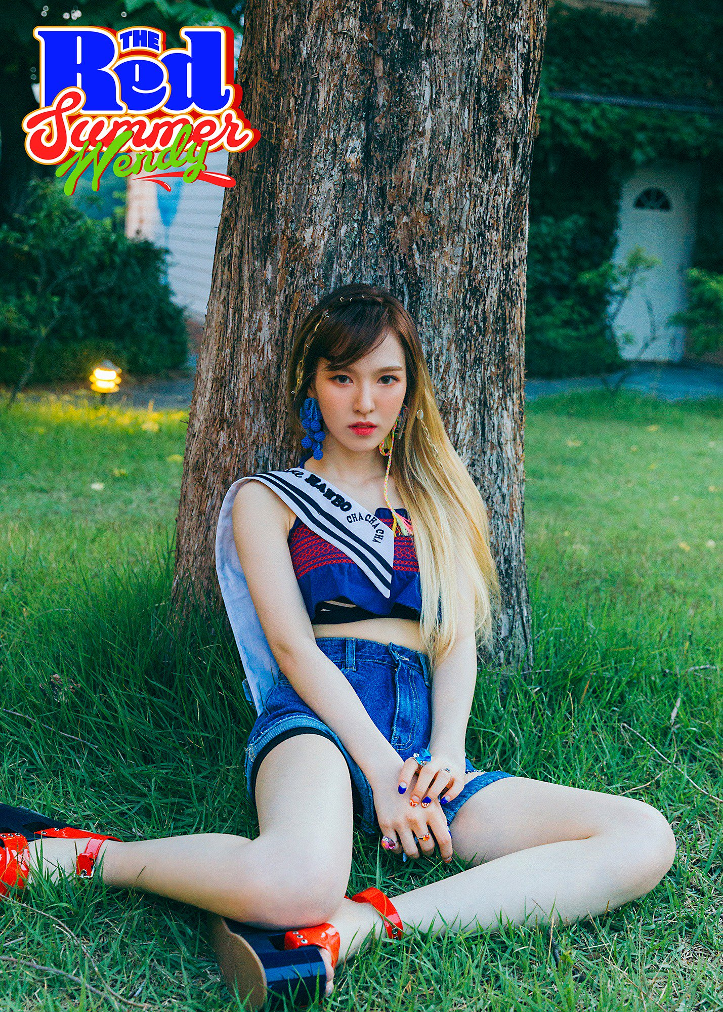 "Update: Red Velvet Reveals New Teaser Photos Featuring Wendy For ""The Red Summer"""