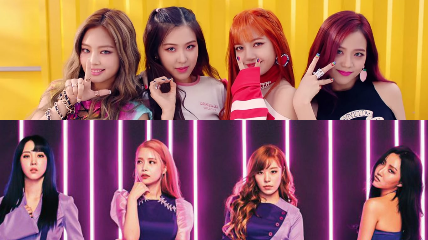 BLACKPINK And MAMAMOO Top Billboard's World Charts With Latest Releases