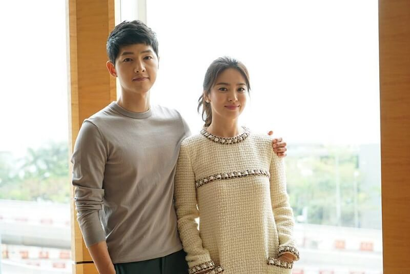 Song Joong Ki And Song Hye Kyo Leave For Los Angeles Together