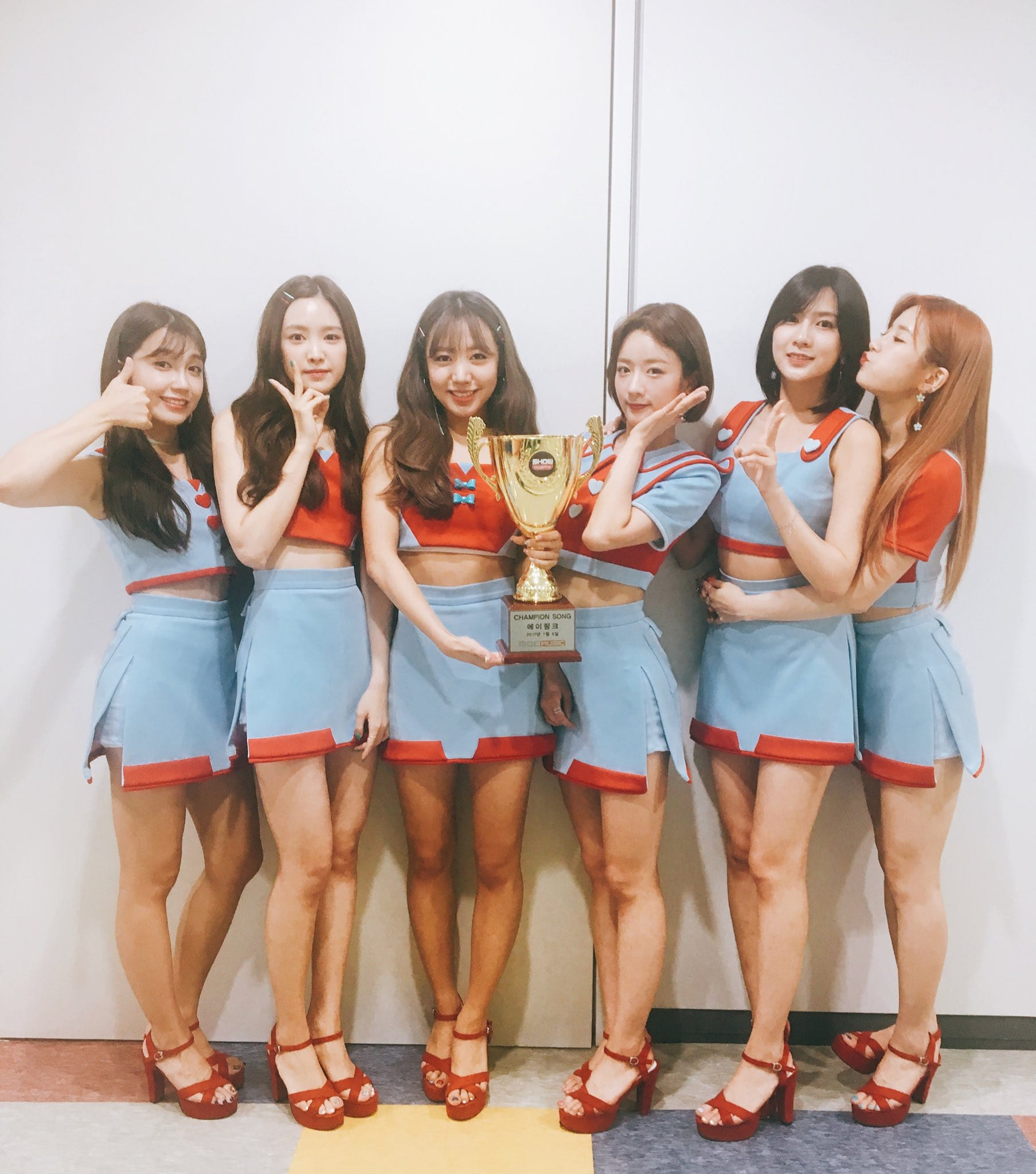 """Watch: Apink Grabs 2nd Win For """"Five"""" On """"Show Champion,"""" Performances By Lee Hyori, NCT 127, And More"""