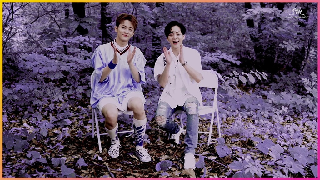 EXO's Xiumin And NCT's Mark Talk About Their Friendship And How Their Collaboration Came About