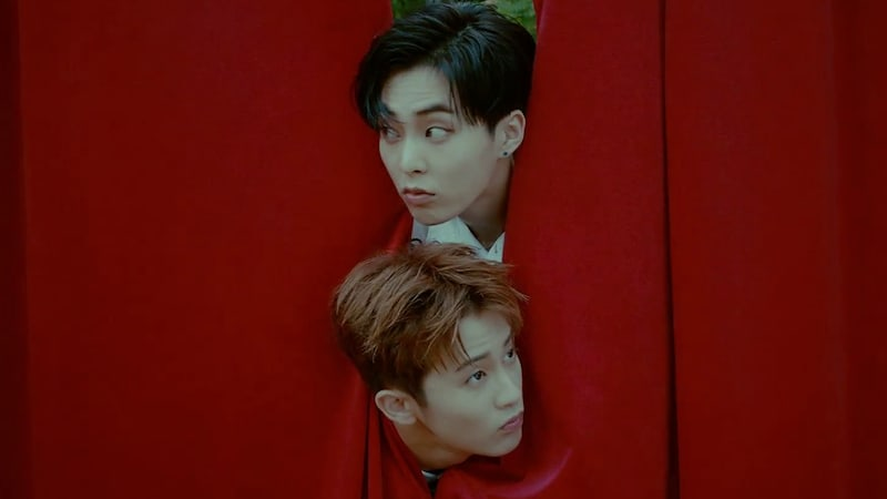 """Update: EXO's Xiumin And NCT's Mark Are """"Young & Free"""" In The Wild For MV Teaser"""