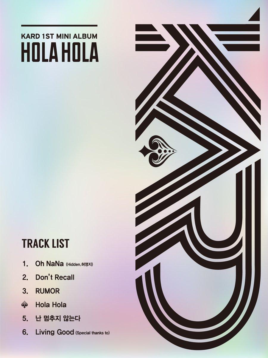 """K.A.R.D /KARD >> Single Digital """"Bomb Bomb"""" - Página 5 Kard-track-list"""