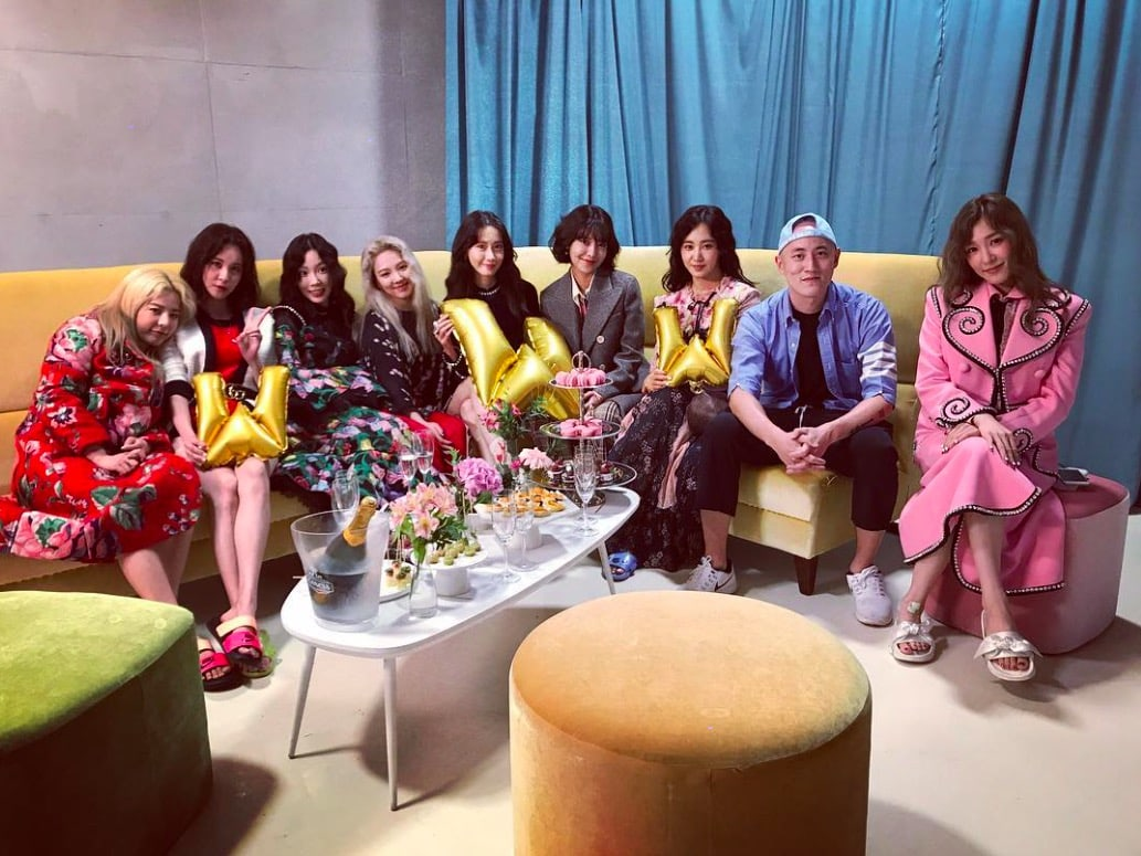 Girls' Generation Gets Together For Photo Shoot Ahead Of Comeback