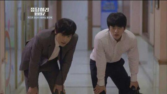 """Tae Woong & Yoon Jae dalam drama """"Reply 1997"""""""