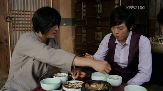 """Kang To & Kang San in dalam """"Bridal Mask"""""""