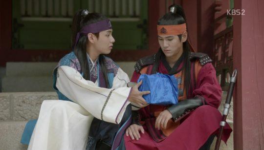 """Han Sung & Dan Se dalam drama """"Hwarang"""""""