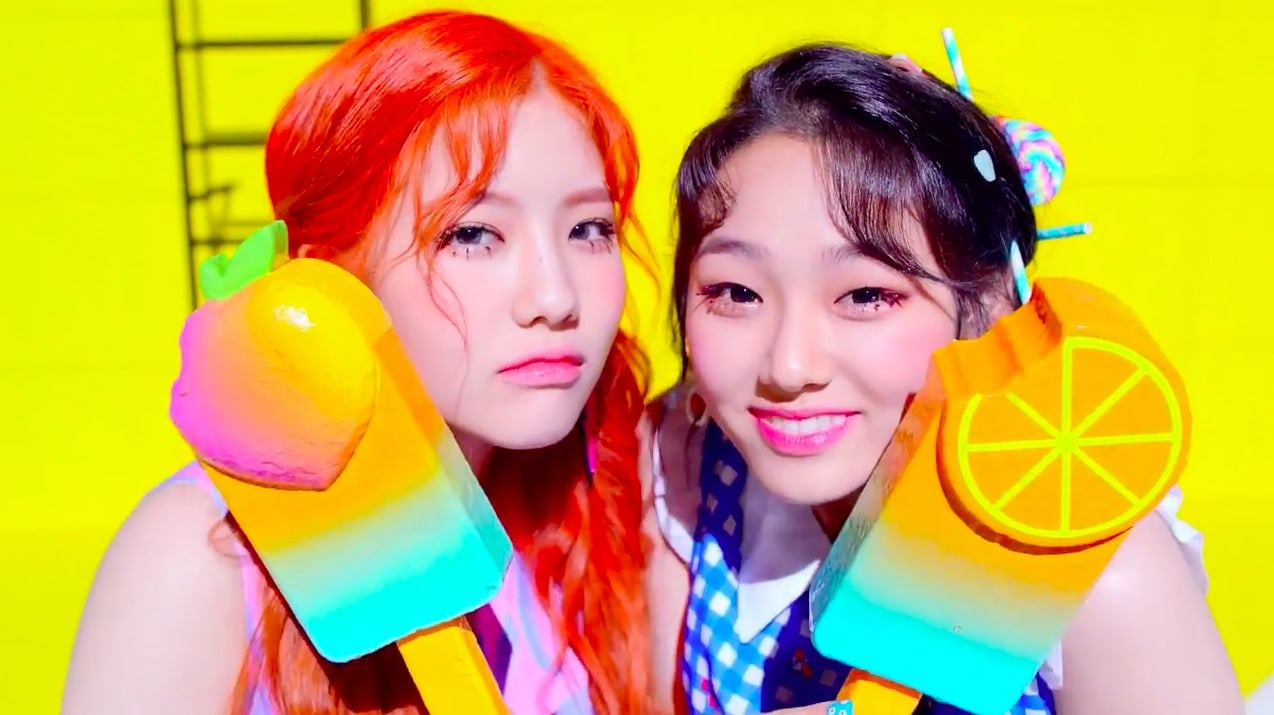 "Update: New Unit gugudan5959 Reveals Teaser For ""Ice Chu"" MV"