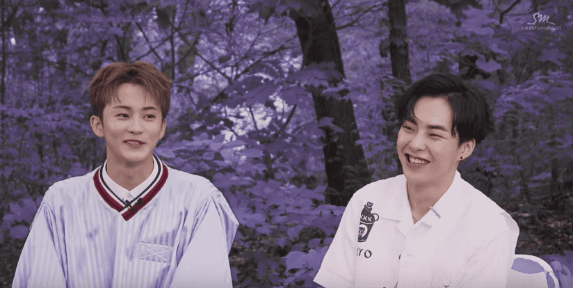 """EXO's Xiumin And NCT's Mark Reveal How They Felt While Recording Duet """"Young & Free"""""""