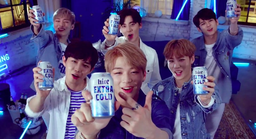Watch: Wanna One Are Extra Refreshing And Handsome For Hite Beer Commercial