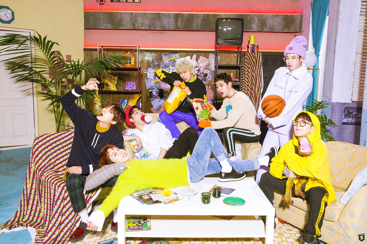 Seven Seasons Announces Block B's Packed Promotion Schedule For The Remainder Of 2017