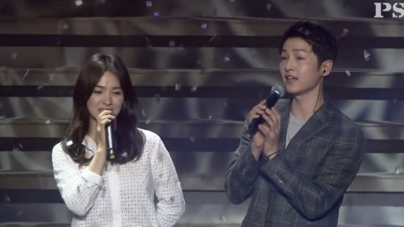 Watch: Video Of Song Joong Ki And Song Hye Kyo Singing Together Regains Traction After Wedding News