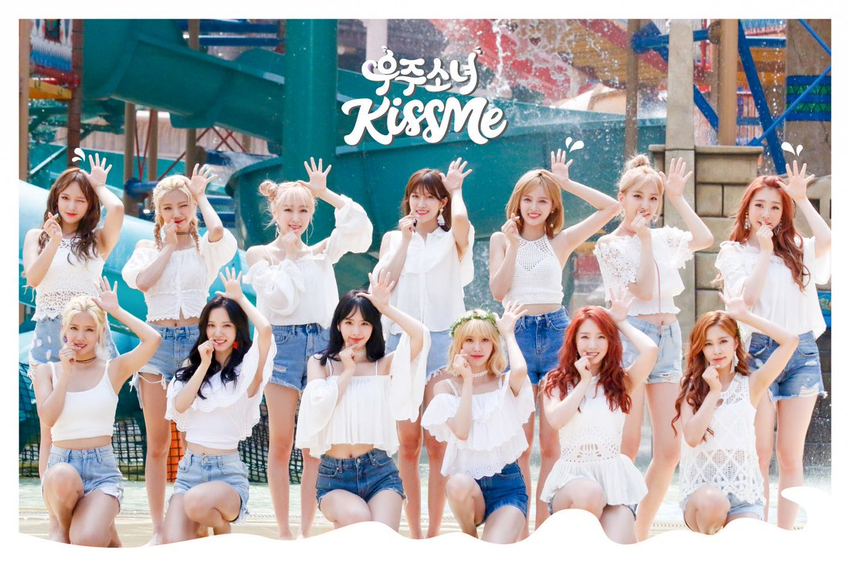 Cosmic Girls Enthralls With Individual Teaser Videos For Summer Comeback Song Kiss Me