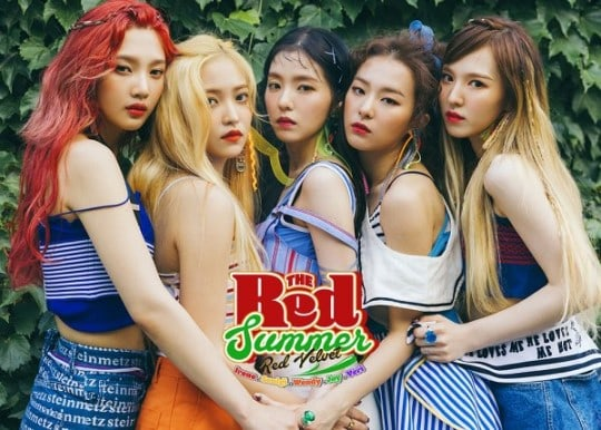 Red Velvet Tops 7 Korean Digital Music Charts With New Title Track Red Flavor