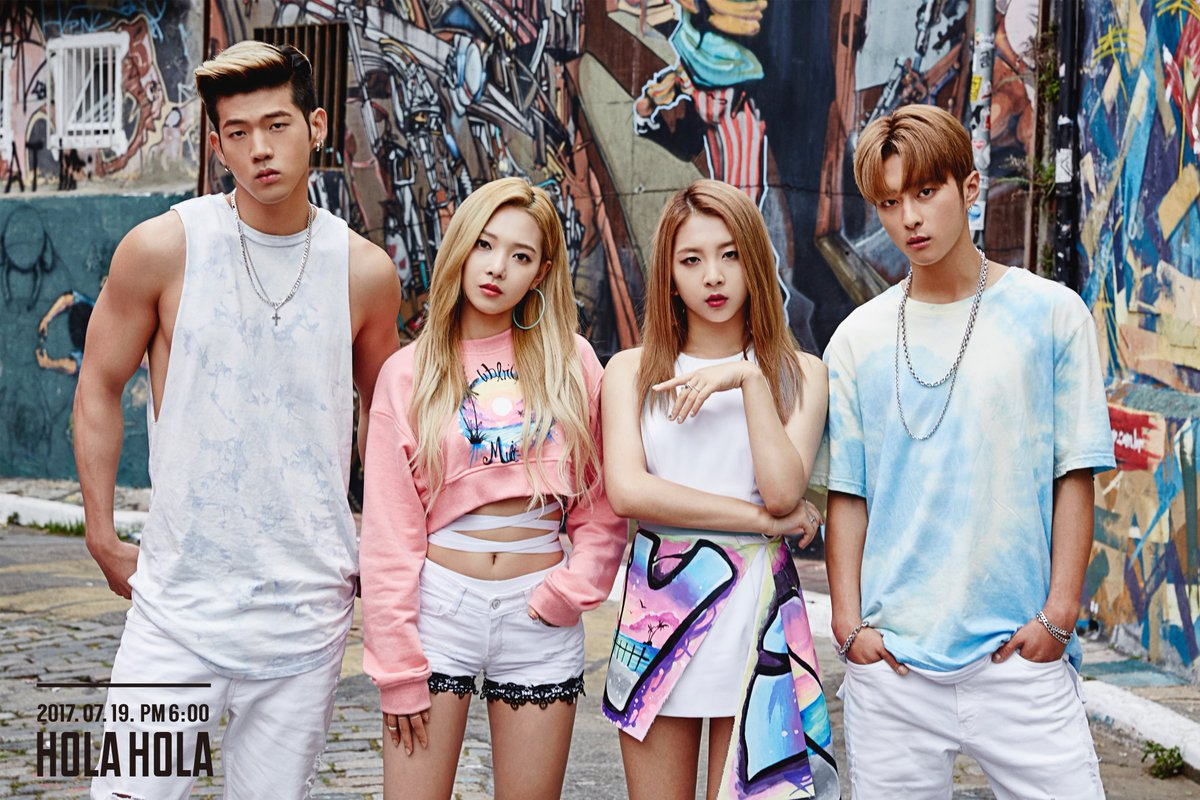 "KARD Drops Preview Of Debut Mini Album ""Hola Hola"""