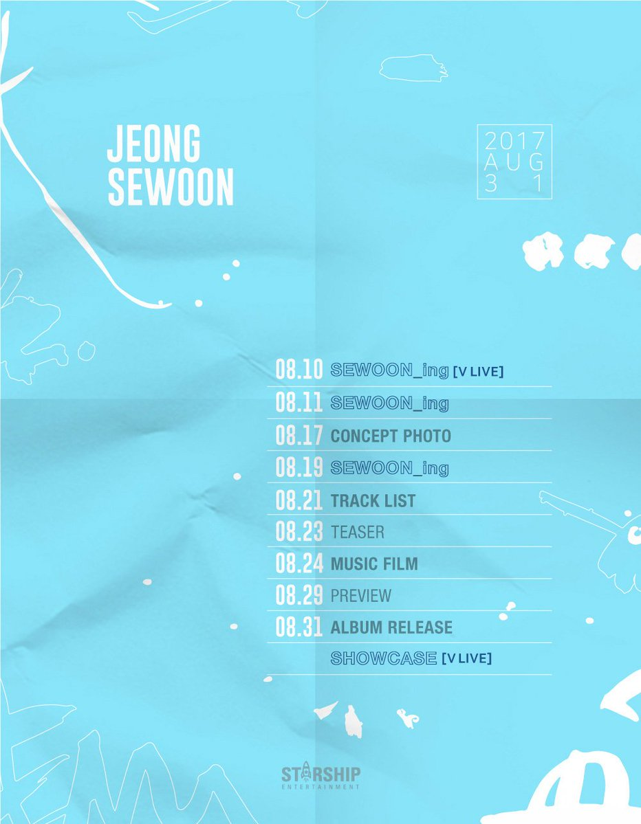 Album debut Jung Se Woon