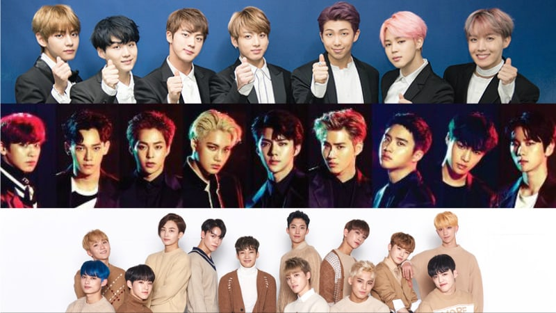 July Boy Group Brand Reputation Rankings Revealed