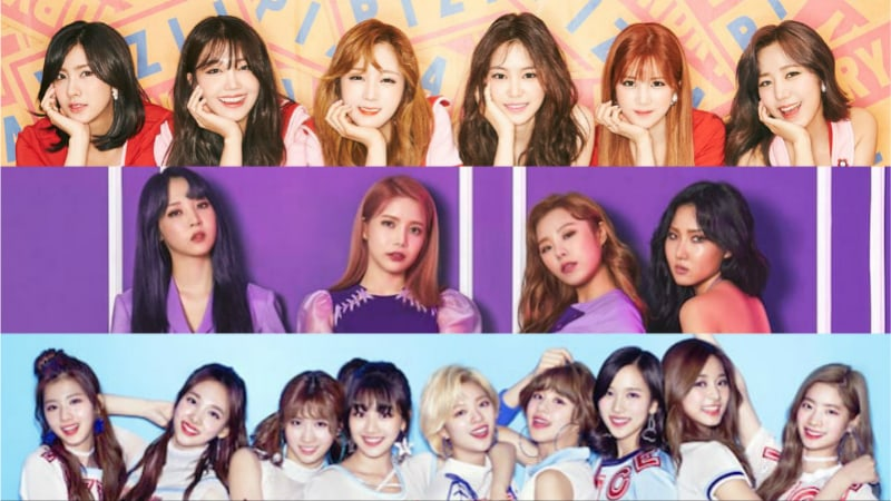 July Girl Group Brand Reputation Rankings Revealed