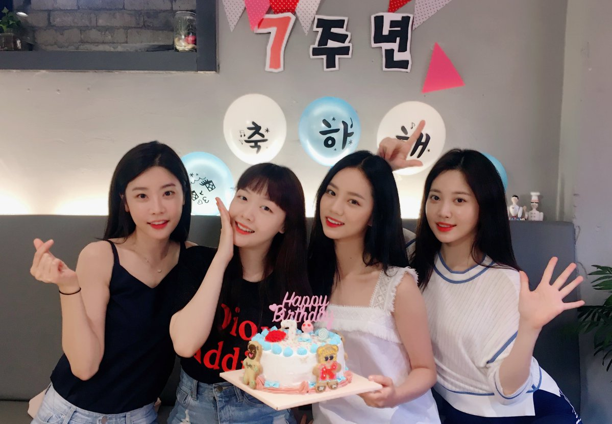 Girl's Day Updates Fans On What They've Been Up To And Celebrates Their 7th Anniversary Together