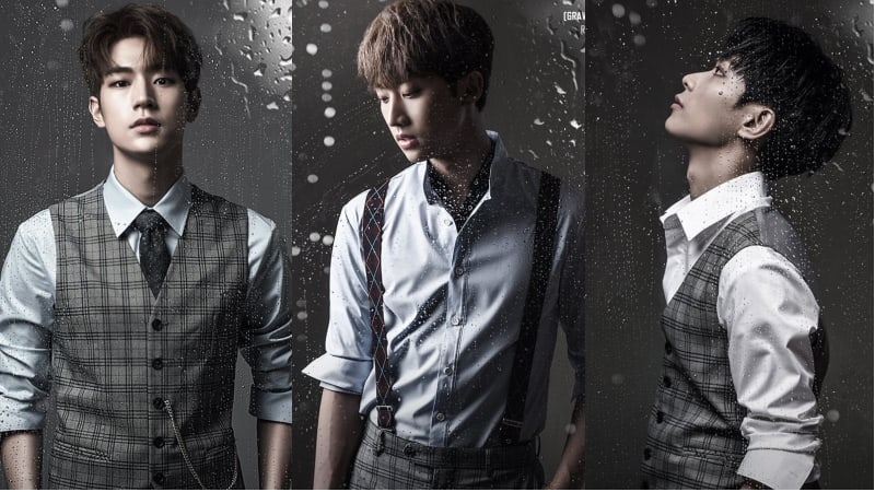 """KNK Members Are Stylish And Handsome In Classic Looks For """"Gravity, Completed"""" Concept Photos"""