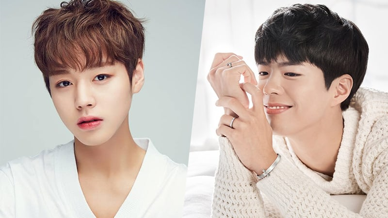 Wanna One's Park Ji Hoon And Park Bo Gum Voted As Top 2 Celebrities That Students Want To Go On Vacation With