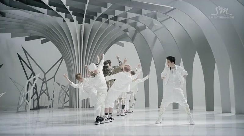 """EXO Reaches 100 Million Views On """"Wolf"""" MV"""