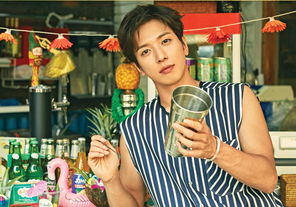 Jung Yong Hwa Takes You On A Tropical Holiday In Teaser Photos For Mini Album Do Disturb