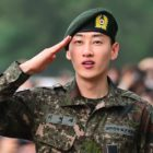 Super Junior's Eunhyuk Tears Up As He Is Discharged From Military