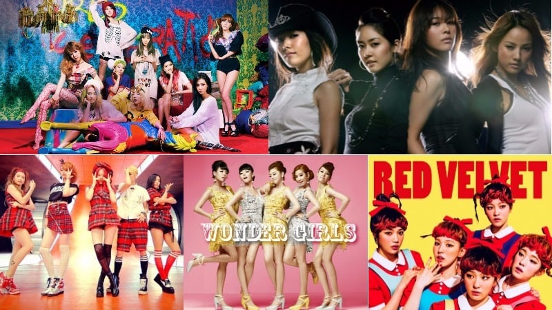 "5 K-Pop Girl Group Songs Make Billboard's ""100 Greatest Girl Group Songs Of All Time"" List"