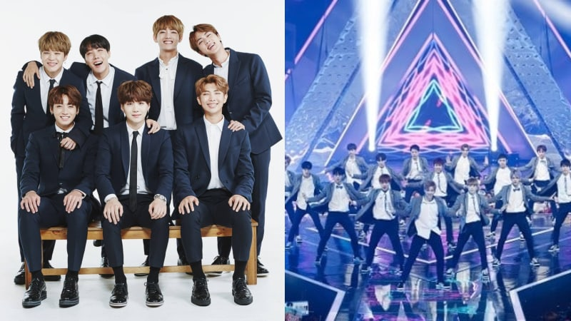"""BTS And """"Produce 101 Season 2"""" Top Korean Twitter Keywords Rankings For First Half Of 2017"""