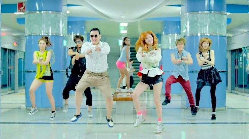 Has Gangnam Style been dethroned on YouTube?