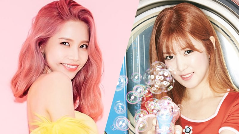 Apink's Chorong and MAMAMOO's Solar Hope To Become Best Friends After An Awkward First Encounter